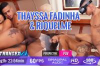 Thayssa Fadinha & Riquelme VR porn