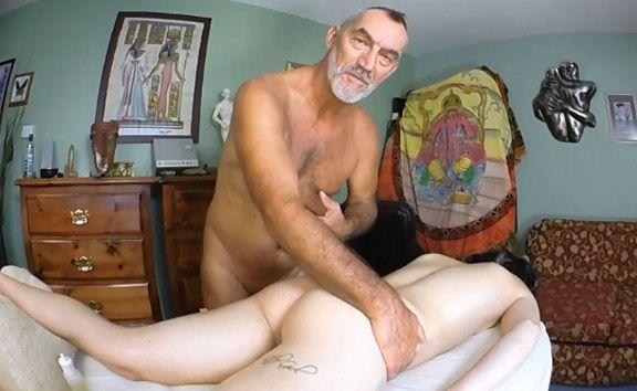 Daddy Russ Gives Cassidy Quinn an Anal Massage